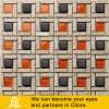 Egg Design Glass Mosaic with Stone B06
