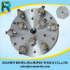 Romatools Diamond Grinding Tools Hammer Wheels for Granite Marble Concrete