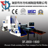 Double Pnuematic Unwinding Plastic Paper Roll Sheeting Machine