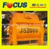 Ramadan Sales! Best Selling Js Series Js2000 Ready-Mixed Twin Shaft Concrete Mixer