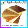 Wooden Colors Flat Lamination PVC Wall Panel Manufacturer