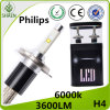 Hot! ! ! H4 H/L Philips LED Car Headlight 6000K 30W
