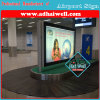 High Quality Scrolling LED Light Box in Airport