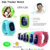 Hot Selling 2g GSM SIM Card GPS Kids Watch Tracker with Sos Call