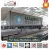 20X80m Aluminium PVC Structure Industrial Storage Warehouse Tent with Solid Wall