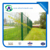 "Cheap Vinyl Coated Welded Fence / PVC White 3D Wire Mesh Fencing / 2"" X 4"" Welded Wire Fence"