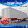 China Supplier Steel Sheet Van Semi Trailer for Sale