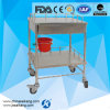 FDA CE ISO 13485 BV Approved Stainless Steel Hospital Dressing Trolley