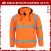 Protective Orange Safety Reflective Jacket with Hoody (ELTSJI-17)