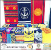 100% Cotton Velour Reactive Printed Beach Towel Df-2898