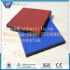Outdoor Playground Rubber Tile Paver, Crossfit Gym Rubber Flooring