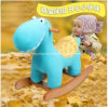 Factory Supply Rocking Horse Blue Dinosaur