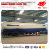 Qilin Factory Price 65cbm Stainless Steel Bulk Cement Powder Tanker Semi Trailer
