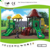 Kaiqi Medium Sized Forest Series Children′s Playground with Slides for Parks, Malls, Schools and More (KQ30048A)