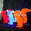 3D Motif Acrylic Squirrel Lights