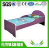 Simple Design Cute Small Wood Single Kid Bed (SF-88C)