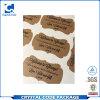 Custom Printed Waterproof Adhesive Kraft Paper Sticker Label