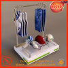 Metal Clothes Hanger Display Stand for Shop