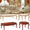 Wood Leather Sofa Set for Living Room Furniture (510D)