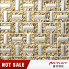 Sliver and Gold Color Metal Mosaic for Wall and Shop