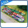 Adult Use Inflatable Outdoor Obstacle Course Equipment on Land