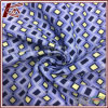 Diamond Pattern 30% Silk 70% Cotton Print Fabric