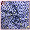 Diamond Pattern 30% Silk 70% Cotton Print Fabric