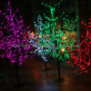 Artificial Holiday 2m LED Cherry Tree Decorative Trees