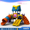 Plastic Child Slides Play Attraction for Park, Happy Play Falicity Children