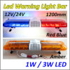 12V Waterproof Police LED Warning Light Bar