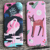 New Arrival Cute Animal Decal Water Printing Hard PC Plastic Phone Cover Case for iPhone 6