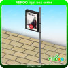 Outdoor Galvanzied Plate Aluminum Lamp Pole Light Box