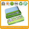 Kids Pencil Tin Case, Metal Tin Pencil Box