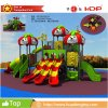 New Design Outdoor Playground Popular Kid Playhouse Slide