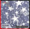 Star Pattern Printed 100%Cotton 4oz Demin Fabric