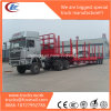 2 Funcations 3 Axles Wood Timber Log Transportation Lowbedsemi Trailer
