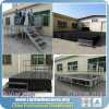 Aluminum Portable Stage with Adjustable Height for Sale