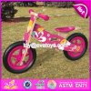 New Design Original Work Wooden Girls Balance Bike for Toddlers W16c173