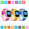 1.22′′ Colorful Touch Screen Kids GPS Tracker Watch with Multiple Position (D15)