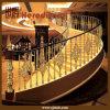 K Gold Casting Aluminum Stair Railing Balustrade for Staircase Handrail (SJ-B038)