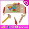Wooden Pretend Play Tool to for Kids, DIY Wooden Toy Tool Toy for Children, Hot Sale New Design Garden Tools Toys W03D038
