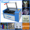 Rotary Device Laser Machine Laser Engraver Cutter 50W 60W Mini Size Stamp Rubber