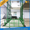 China Hydraulic Guide Rail Lift Customized Cargo Lift