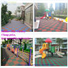 30mm Thickness Rubber Floor Tiles Playground Wearing-Resistant Rubber Tile