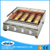 Four Big Burner Stainless Steel Gas BBQ Grill