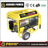 Hot Sale Power Generator Set 4kVA Electric Start 100% Copper with Wheel Handle Zh5500