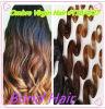 Ombre Virgin Brazilian Three Tone Color Human Hair Weave