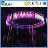 Outdoor Ring Shaped Printer Water Curtain Decoration Digital Waterfall