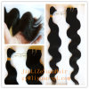 Natural Color Body Wave Virgin Chinesehuman Hair Extension