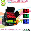 DMX Wireless LED City Color Light 96PCS*10W RGBW 4in1 LEDs